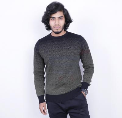 Score Jeans Mens Sweater Full Sleev Black - HF585 - XL