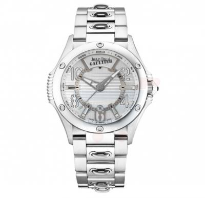 Jean Paul Gaultier Swiss Made Men Silver Watch - JPG0102007