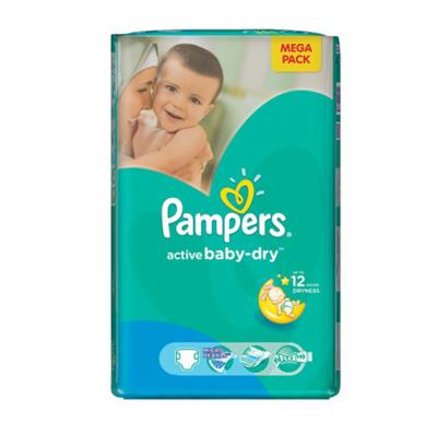 Pampers Active Baby  CP No.5 junior  (11-18kg) 84pcs