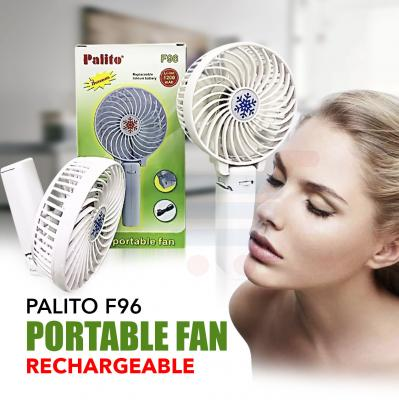 Palito Portable Fan F 96, With 1200mAh Rechargeable Lithium Battery