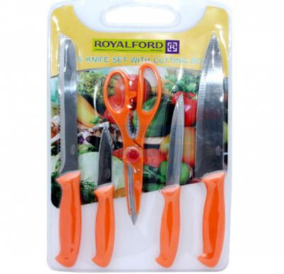 Royalford 5 Pcs Knife Set - RF4191