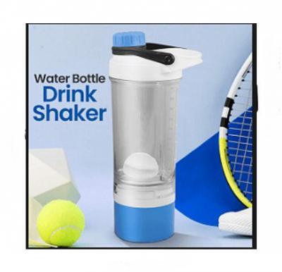 Plastic Sport Water Bottle Drink Shaker 500ML, YY-111, Assorted Color