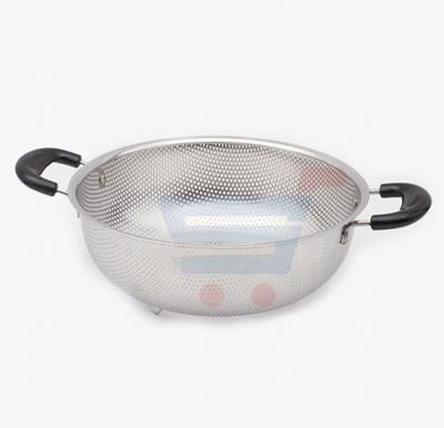 Royalford Stainless steel Strainer Basket 25CM Silver - RF5404