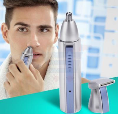 Olympia Battery Operated 2 In 1 Wet & Dry Personal Nose Trimmer & Shaver, OE-15