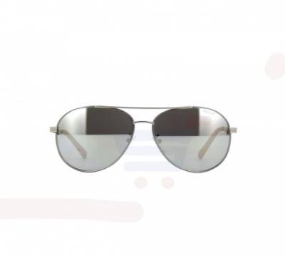 Police Aviator Matte Palladium Frame & Grey With Silver Mirrored Sunglasses For Unisex - SPL344-581X