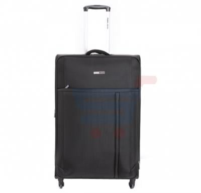 Para John 24 Inch Trolley Luggage, Black- PJTR3092