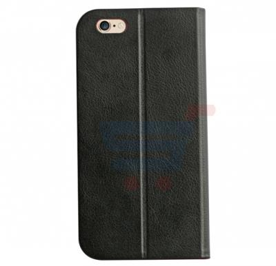 Promate Neat i6 iPhone Case, Premium Ultra Slim Protective Leather Folio Case for iPhone 6/6S, Black-Red