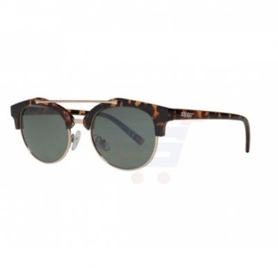 Zippo Sunglasses Leopard Print with Brow Bar - OB17-02