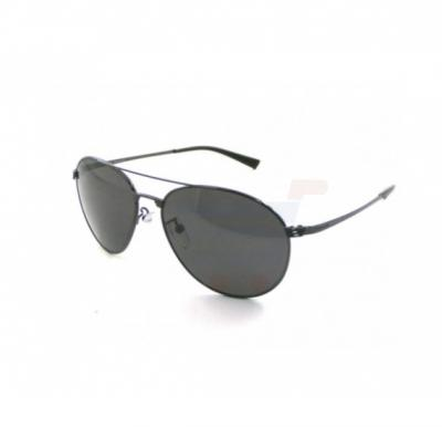 Police Oval Grey Frame & Grey Mirrored Sunglasses For Men - S8953-568P
