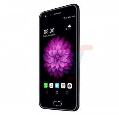 Mione X7 Smartphone, 4G LTE, Android 5.1, 5.2 Inch IPS HD Display, 3GB RAM, 32GB Storage, Dual Camera, Dual Sim- Black