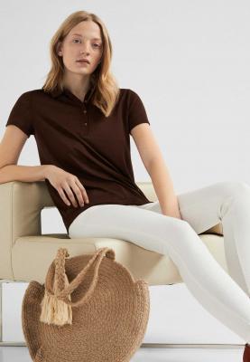 Springfield Fashion Womens T-Shirt Cherry Brown