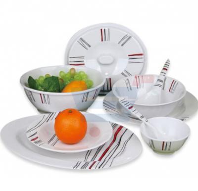 RoyalFord 40 Pieces Melamine Dinner Set - RF6721