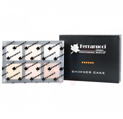 Ferrarucci Cheek Blusher Shimmer Cake 27g, 6006 B1