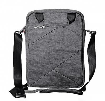 Promate Lightweight Handbag For Laptops Trench-L Grey