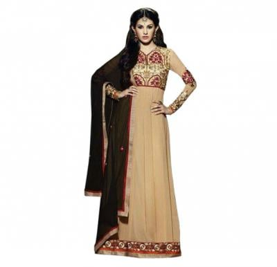 Fiona 11119 Georgette With Embroidery Designer Anarkali Dress Material