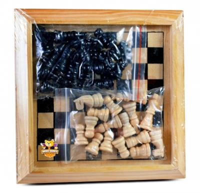 Brain Games Wooden Chess Board