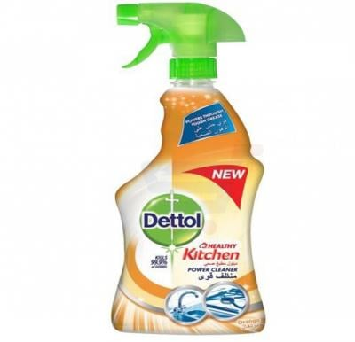 Dettol Healthy Kitchen Power Cleaner Spray Orange 500ml