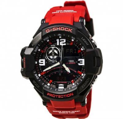 Casio G-Shock GA-1000-4BDR Gravity Defier Men Watch