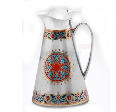 RoyalFord Stainless Steel Rumi Persian Vacuum Flask 1LTR - RF8578