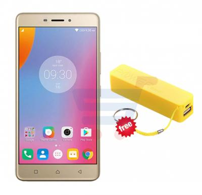 Bundle Offer Kagoo K06 Smartphone, Android 5.1, 5.0 Inch FWVGA Display, 1GB RAM, 4GB Storage, Gold And Get A5 Mobile Power Bank Free