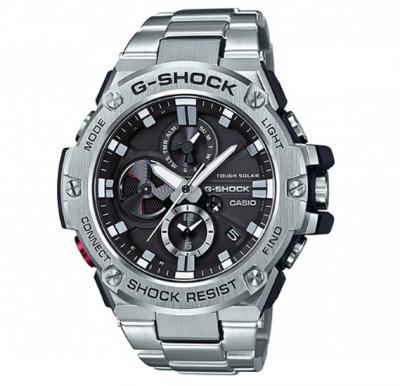 Casio G-shock Steel Analog Watch, GST-B100D-1ADR