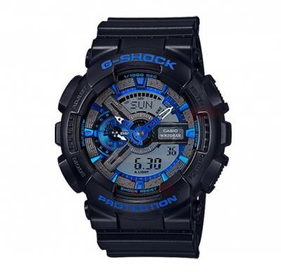 Casio G-Shock GA-110CB-1ADR  Analog Digital Watch For Men-Black/Blue