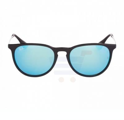 Ray-Ban Pilot Black Frame & Blue Mirrored Sunglasses For Women - RB4171-601-55-54