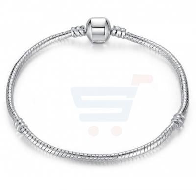 Silver Plated Fashion Brand Classic Bracelet For Unisex, 16-23cm