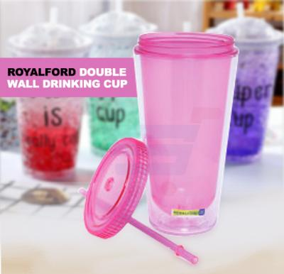 RoyalFord Double Wall Drinking Cup Cap 650ml - RF7892