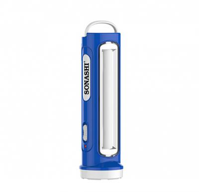 Sonashi 2 In 1 Rechargeable Led Torch With Lamp Blue, SPLT-108