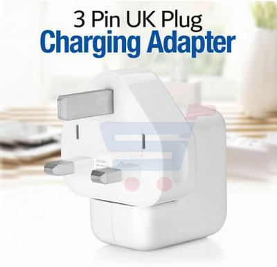 Universal 10W 3 Pin UK Plug Charging Adapter