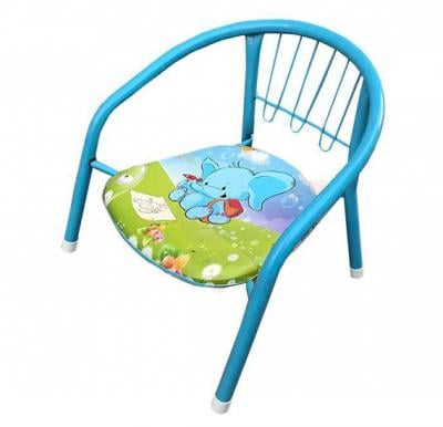 Small Baby Chair With Back For Rest - Blue And Red