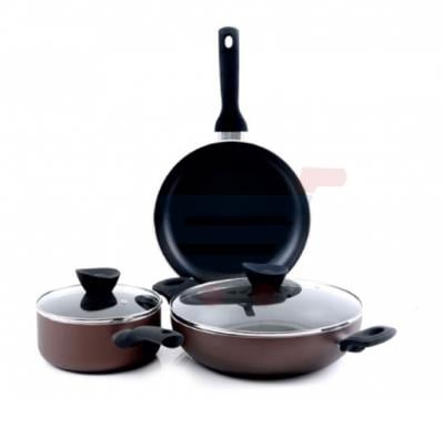 Royalford 5 Pcs Bavaria Non Stick Cookware Set - RF7866