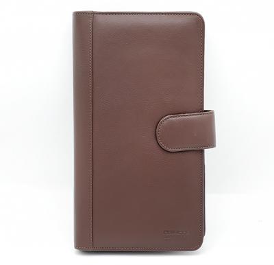 Philippe Morgan premium Leather Wallet 450 Brown