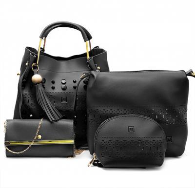 4 in 1 Ladies Bag set 064 Black