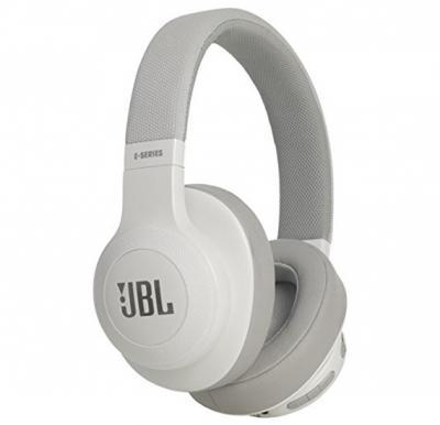 JBL Over-Ear Bluetooth Stereo Wireless Headphone - E55BT White