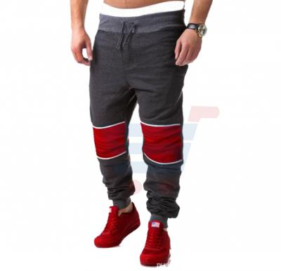Mens PATCH Sporty Designer Trouser Charcoal Grey - 1859 - S