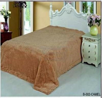 Senoures Classic Blanket Double 220X240CM - B-002 Camel