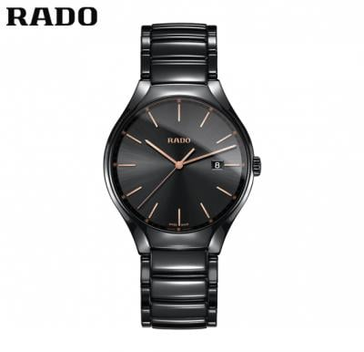 Rado R27238162 True Black Dial Black Ceramic Mens Watch