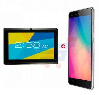 Bundle Offer Hotwav R6 Smartphone, Android, 1GB RAM, 8GB Storage-Grey-and Lenosed A710 Tablet, Android 4.2.2, 7 Inch LCD Display, 1GB RAM, 8GB Storage, Dual Camera, Wifi- White