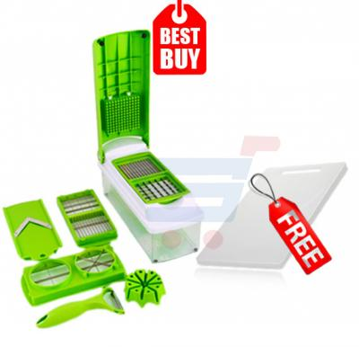 Combo Offer! Nicer Dicer, & Get Kitchenmark Cutting Board 306X206X7.5MM White-8871FREE