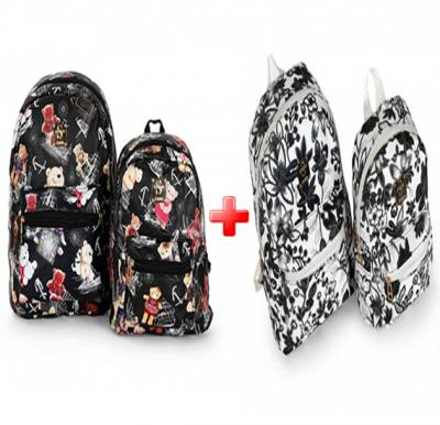 Okko 4 Pieces Mochila Backpack for Teenagers 13 inch & 10 inch
