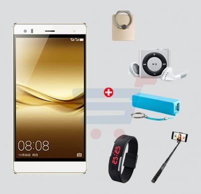 Bundle Offer! Hotwav Cosmos V5 Smartphone,Android 5.1,5.5 Inch HD Display,2GB RAM,16GB Storage,Dual Camera,Dual Sim,Wifi-Gold+Wrist Band Watch+Selfie Stick+MP3 Player+Power Bank+Ring Stent FREE!!!