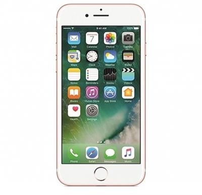 Apple iPhone 7 Smartphone, iOS10, 4.7 Inch Retina HD Display, 2GB RAM, 32GB Storage, Dual Camera - Rose Gold