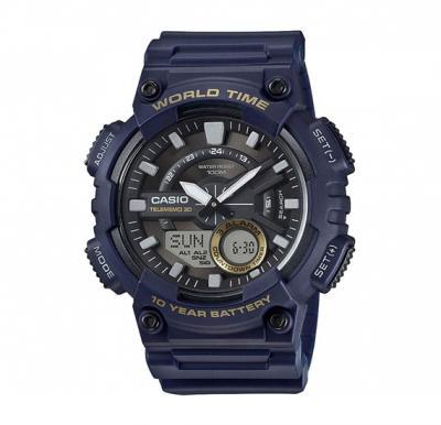 Casio Resin Analog Quartz Watch AEQ-110W-2AVDF