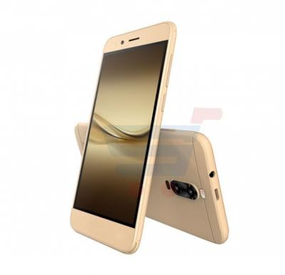 Kagoo K02 Smartphone, Android, 5 Inch Display, Quad Core 1.3GHz, 4GB Storage, 1GB RAM, Dual SIM, Dual Camera - Gold