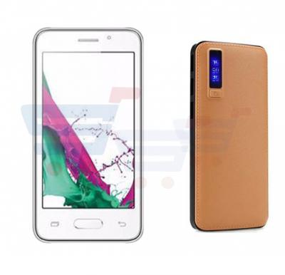 2 in 1 Bundle Offer M-Horse J7 3G 3G Smartphone – White And Get Power Box 15000mAh Power Bank Free