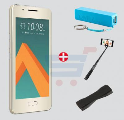 Bundle Offer! Jetel A9 Smartphone, 3G, Android 4.4, 4 inch LCD Display, 1 GB RAM, 4 GB Storage, Dual Camera, Dual SIM & Get Power Bank + Selfie Stick + Grip Cover FREE