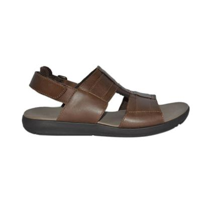 Hush Puppies Mens Sandals Brown Leather, Size 7, HM01822-200
