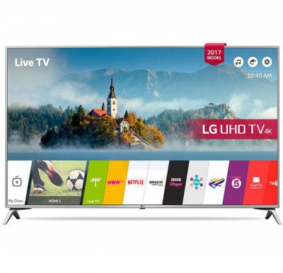 LG 55 Inch 4K Ultra HD Smart LED TV 55UJ651V